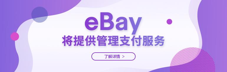 eBay将提供管理支付服务