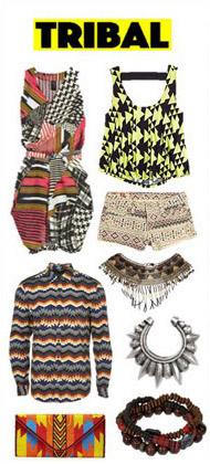 时尚风格,服饰类常用关键词